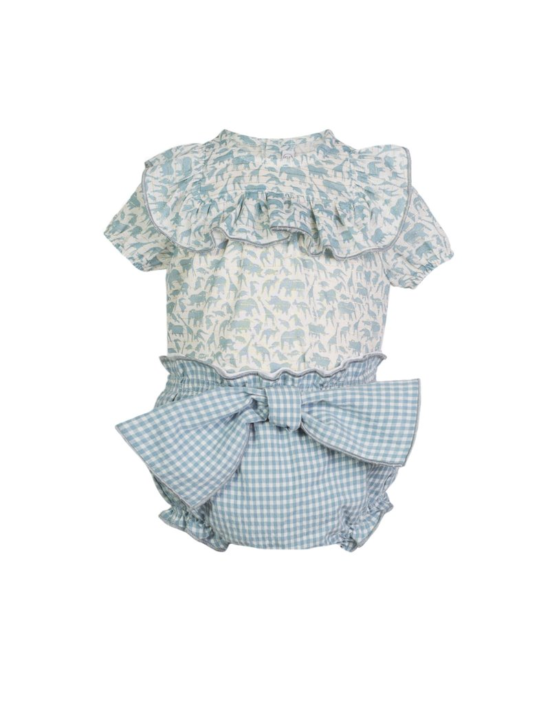 "Eve Children Blouse + bloomer ""Jungle"""