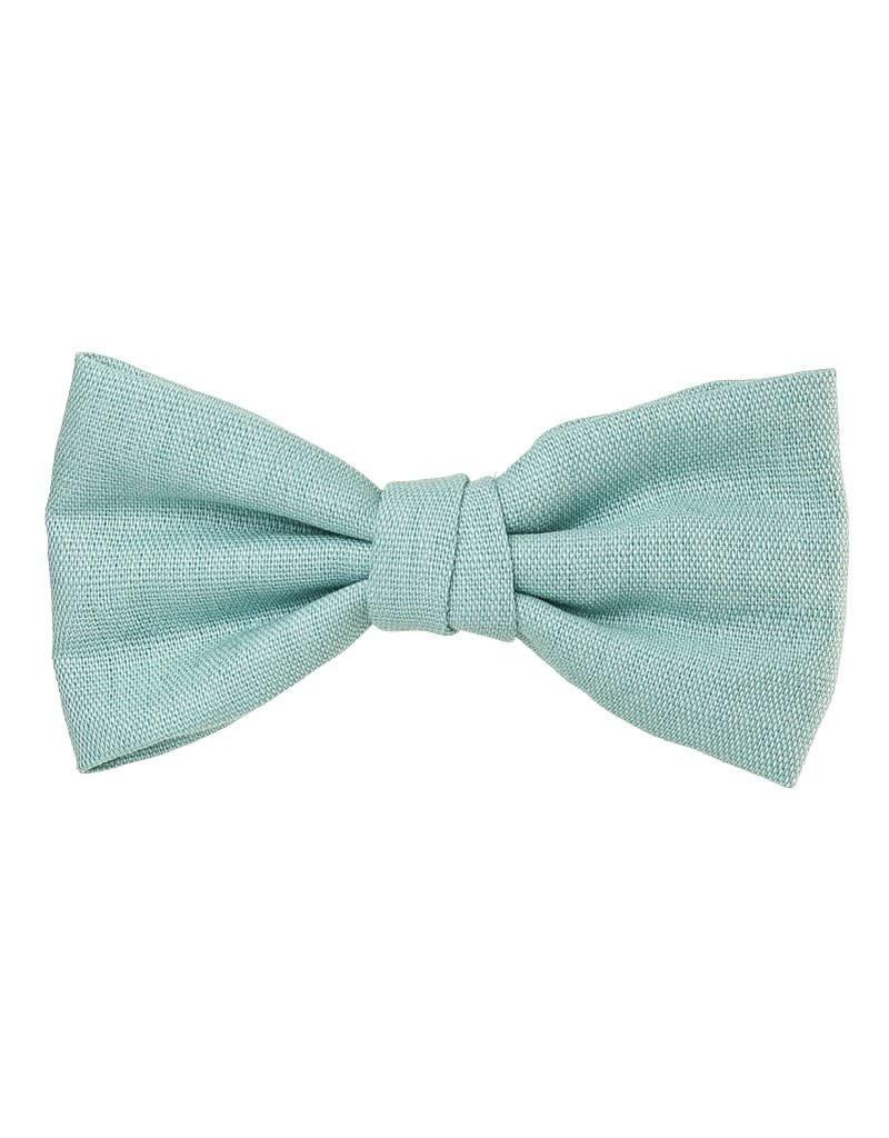 Siena Clip linnen strik groenblauw
