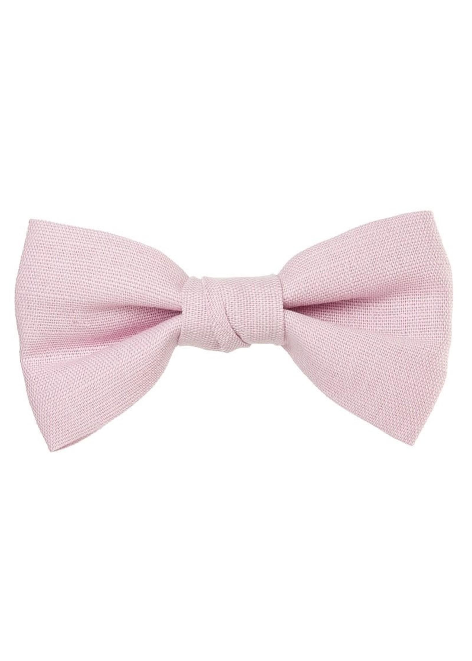 Siena SIENA Clip linnen strik roze