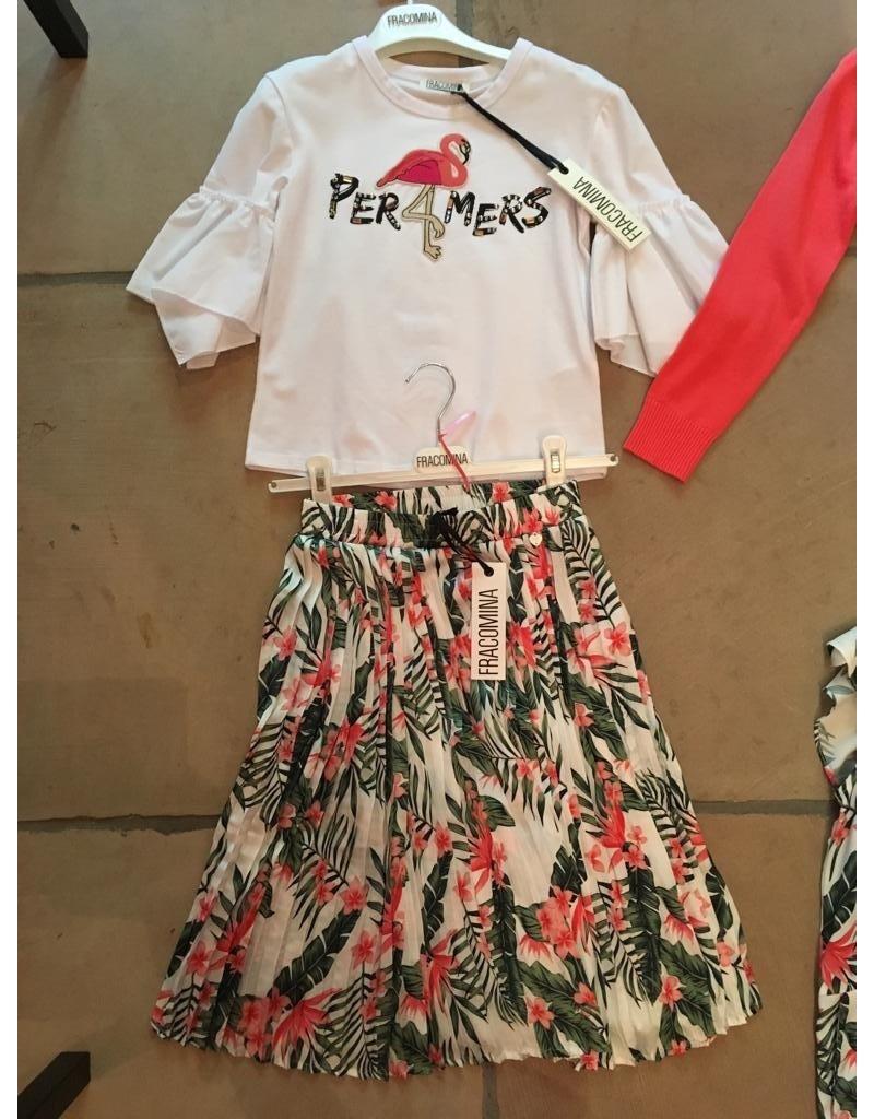 """Fracomina Rok """"Flowers&Leaves"""" lang model"""