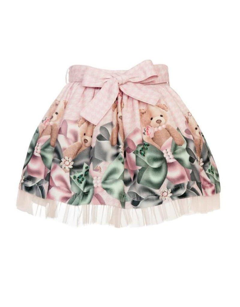 """Balloon Chic Rokje """"Bear"""" roze tule"""