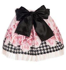 """Balloon Chic Rokje """"Rosesé zwarte strik tule"""