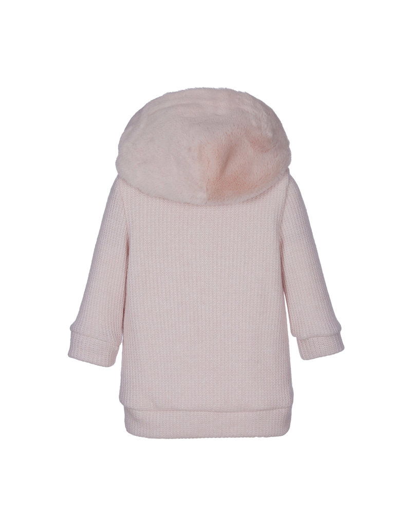 "Lapin House Sweaterjurk ""Blush"" bont"