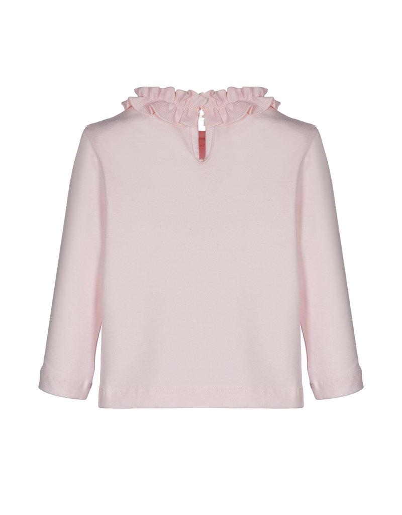 Lapin House Longsleeve coll roze frullen