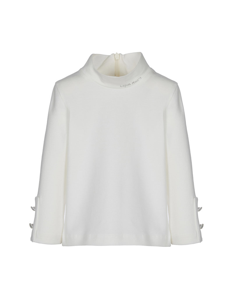 Lapin House Longsleeve coll offwhite