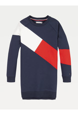 TOMMY HILFIGER Sweaterjurk Flag Blocking navy