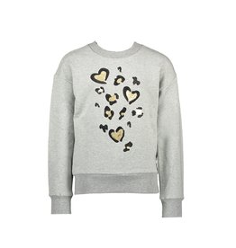 "Le Chic Sweater ""Leopard Love"" seal melee"
