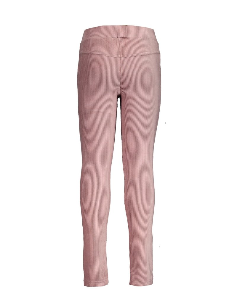 Le Chic Broek rib skinny french rose