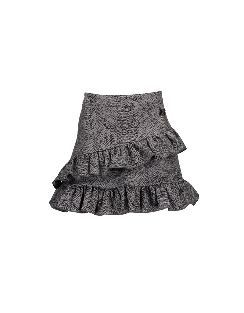 Le Chic Rok snake leather look shadow grey