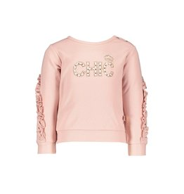 """Le Chic Sweater """"CHIC"""" spray glitter french rose"""