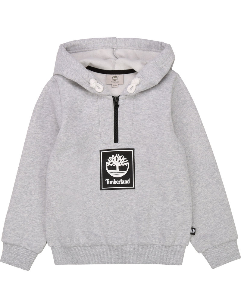 Timberland Hoodie korte rits grey