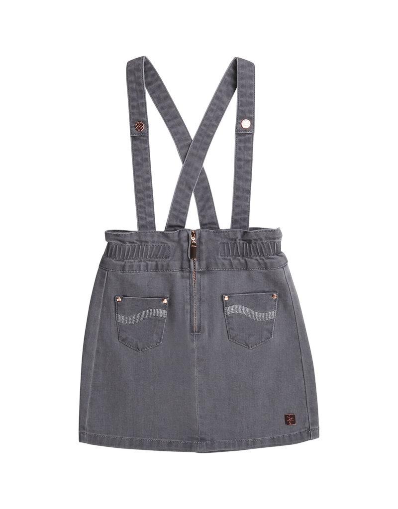 Carrément Beau Jeansjurk denim grey