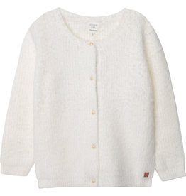 Carrément Beau Cardigan tricot offwhite