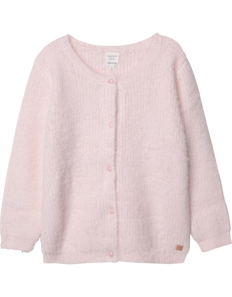 Carrément Beau Cardigan tricot litchi