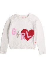 "Billieblush Sweater knitted ""GRL"""