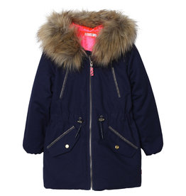 Billieblush Parka removable fake fur cap