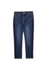 Billieblush Jeans denim velvet tape