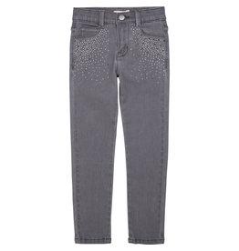 Billieblush Jeans denim grey strass