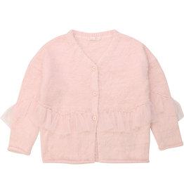 Billieblush Cardigan knitted lang pale rose