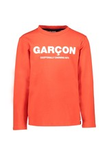 "Le Chic Garçon Tshirt ""Garçon"" scarlet red"