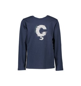"""Le Chic Garçon Tshirt """"Ç"""" blue navy"""