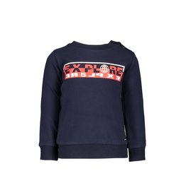 "Le Chic Garçon Sweatertje ""Explore"" blue navy"