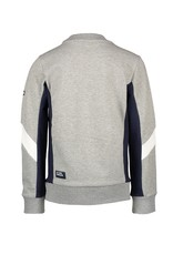 Le Chic Garçon Sweater cut&sewn parts grey melee