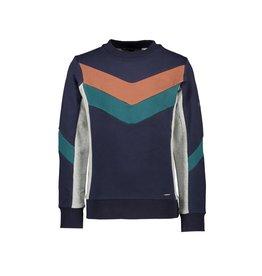 Le Chic Garçon Sweater cut&sewn parts blue navy