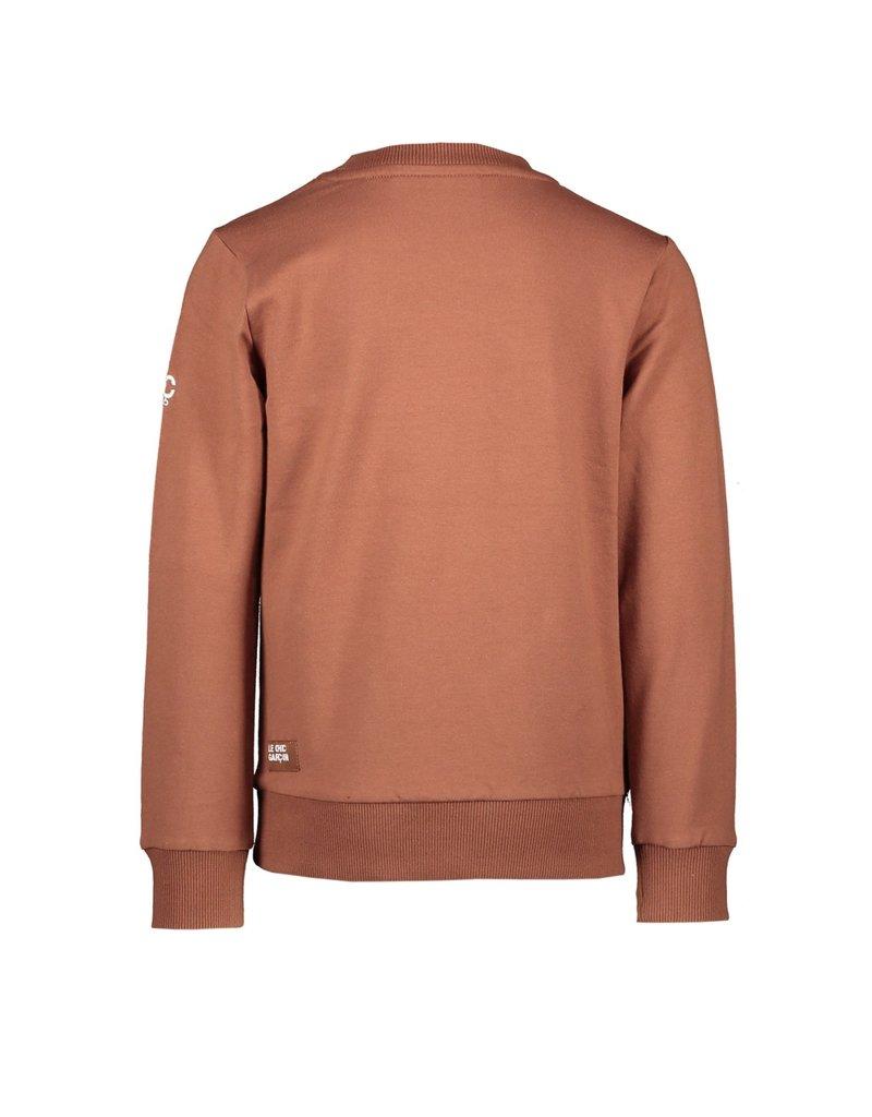 "Le Chic Garçon Sweater ""Garçon"" cinnamon"