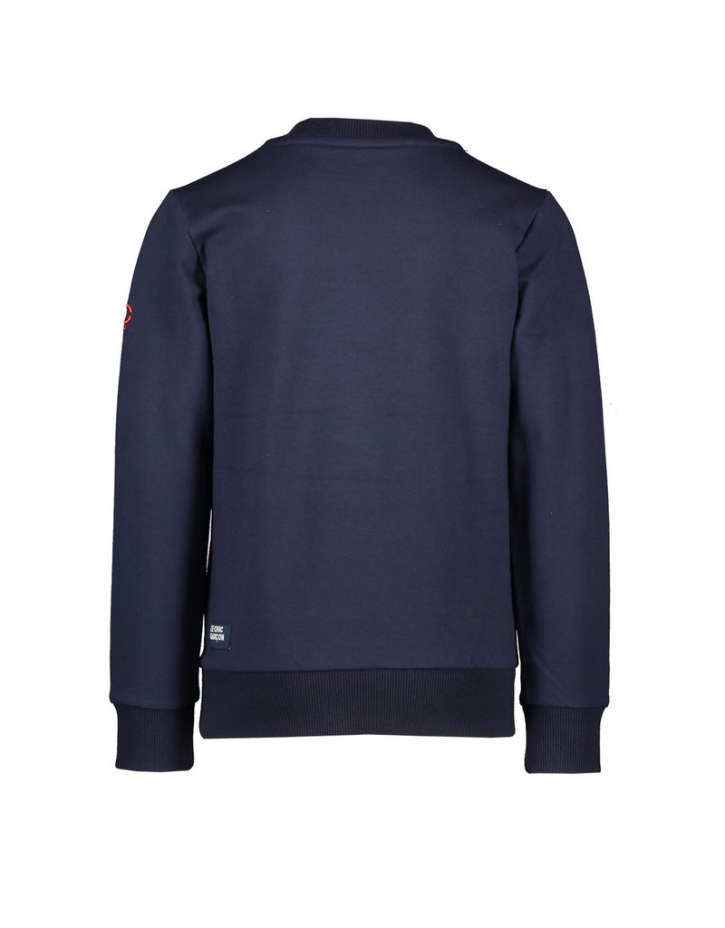 "Le Chic Garçon Sweater ""Explore"" blue navy"