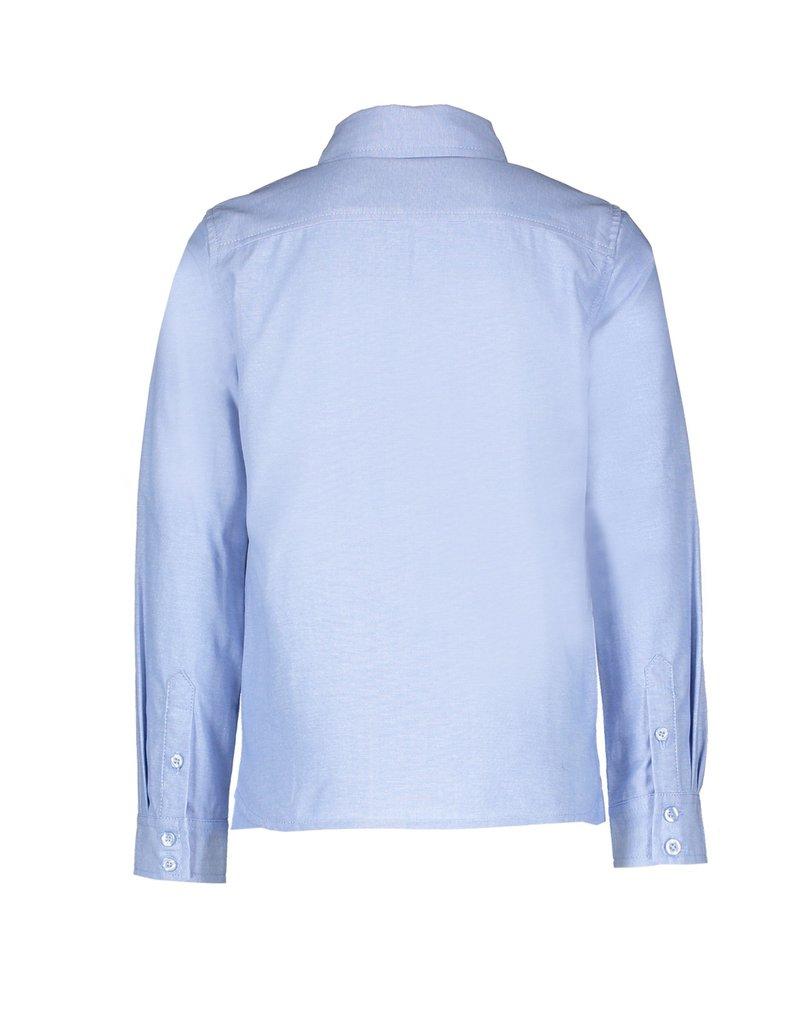"Le Chic Garçon Hemd ""Chambray"" periwinkle blue"