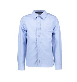 "Le Chic Garçon Hemd ""Chambray"" periwinkle blue"