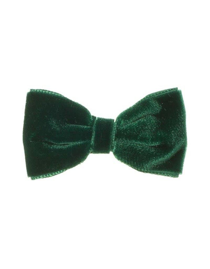 Siena Speld clip velvet groen