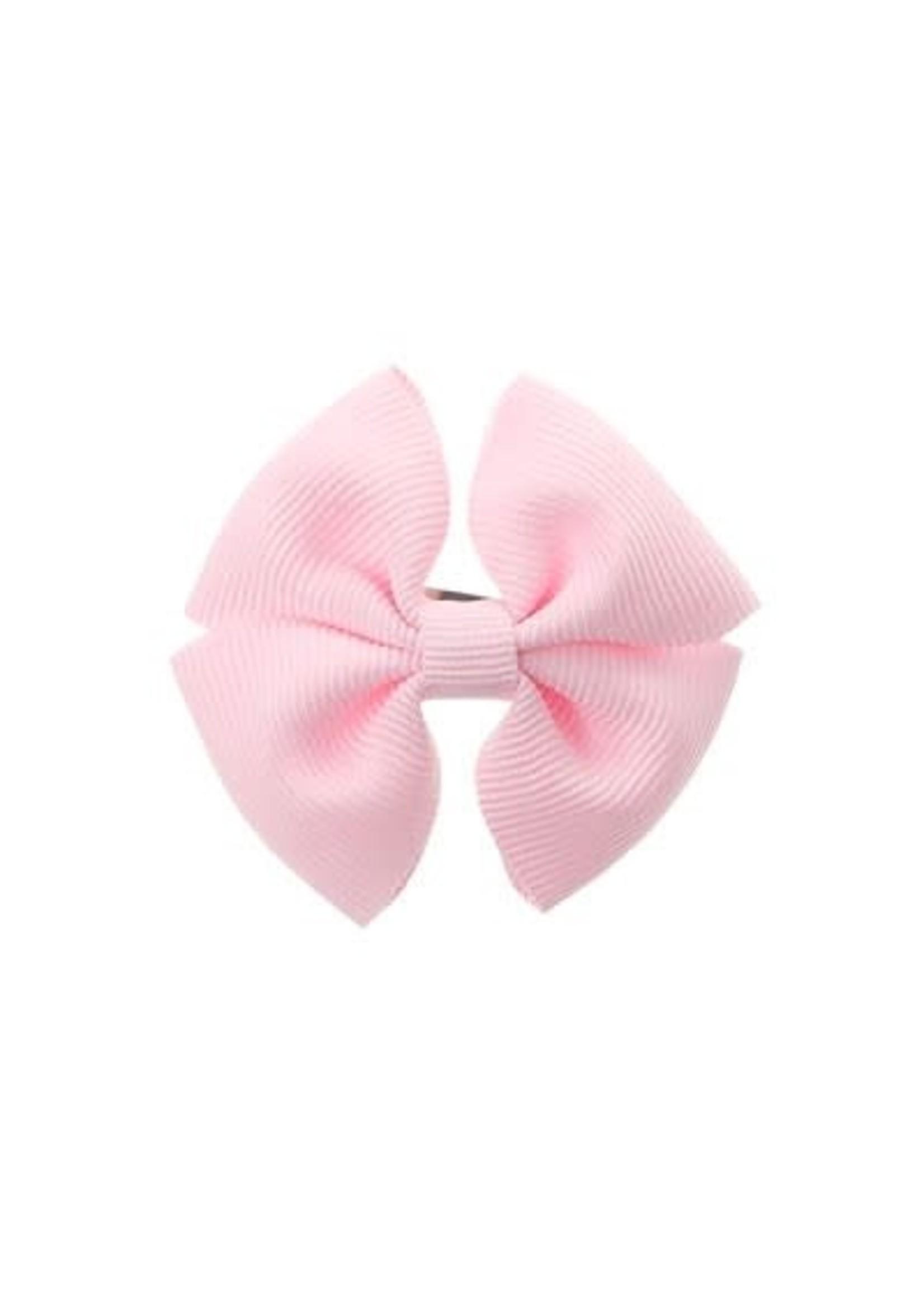 Siena SIENA Speld clip dubbele strik roze