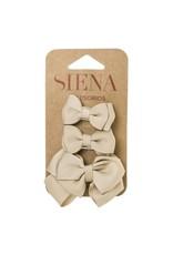 Siena Pack 3 clips beige