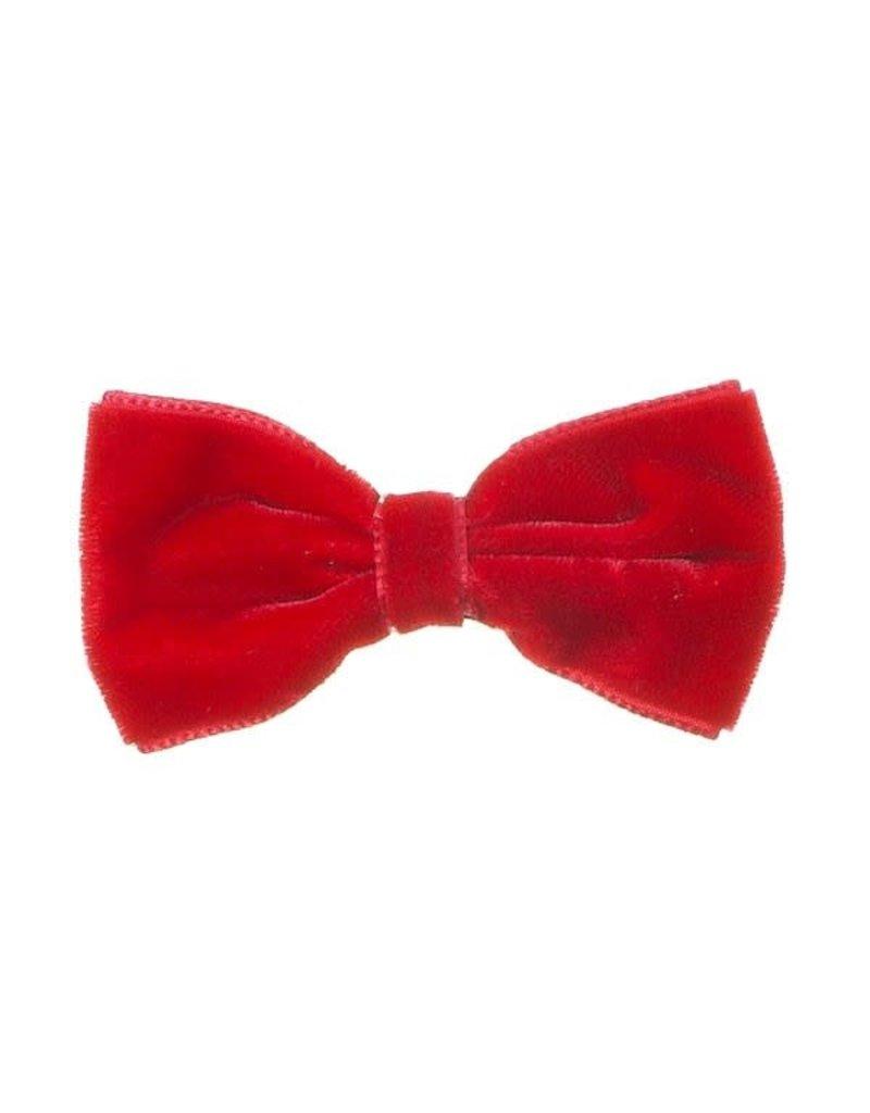 Siena Speld clip velvet rood