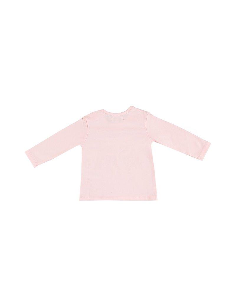 """LE CHIC BEBE Tshirt """"Teddybear"""" glitter pink"""