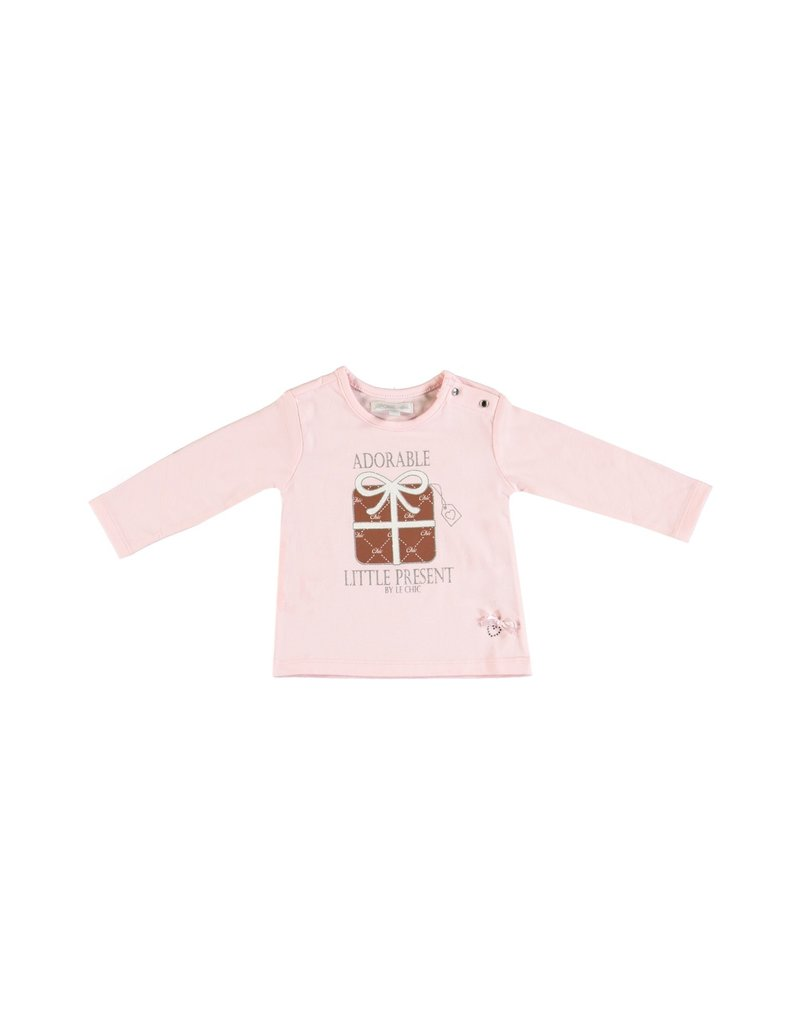 "LE CHIC BEBE Tshirt ""Little Present"" pink"