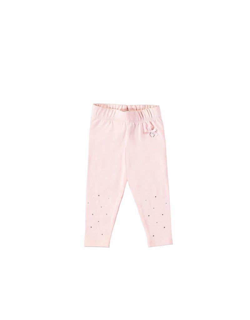 LE CHIC BEBE Legging strass pink
