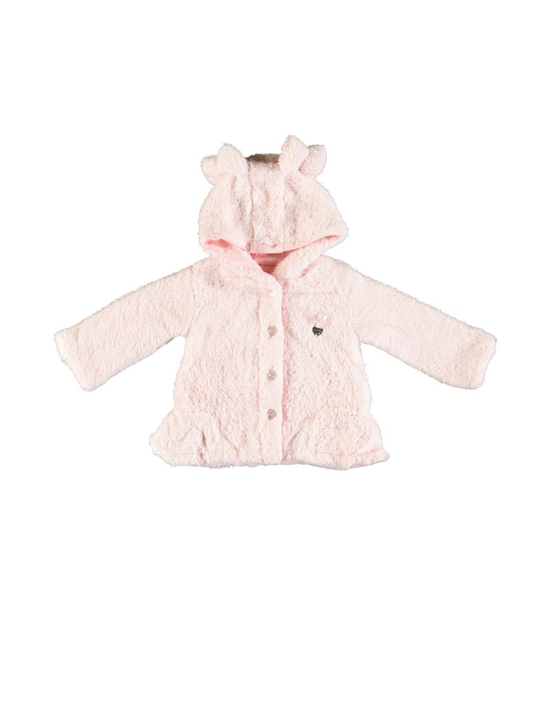 LE CHIC BEBE Teddy Coat soft pink