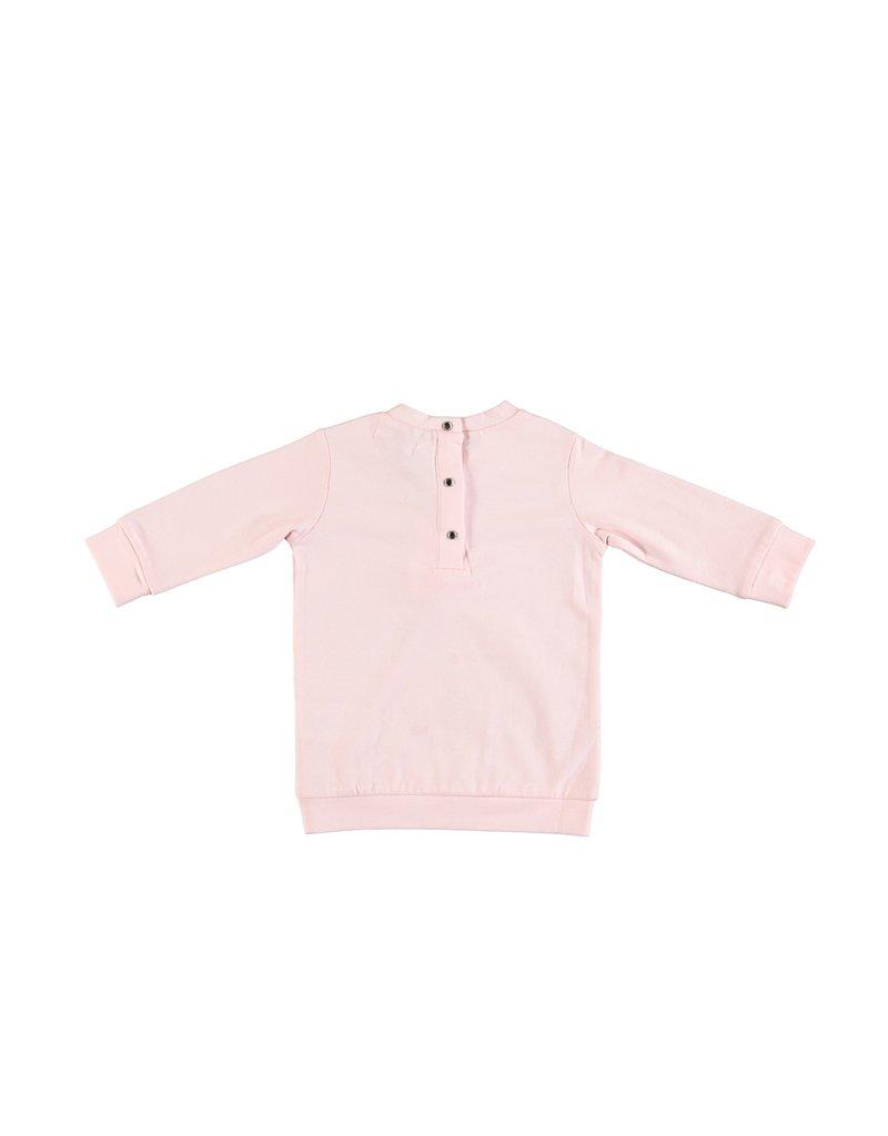 "LE CHIC BEBE Tuniek/Jurk ""Bow"" strass pink"