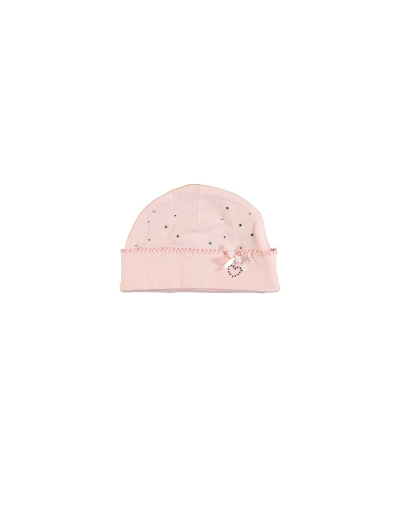 LE CHIC BEBE Mutsje strass pink