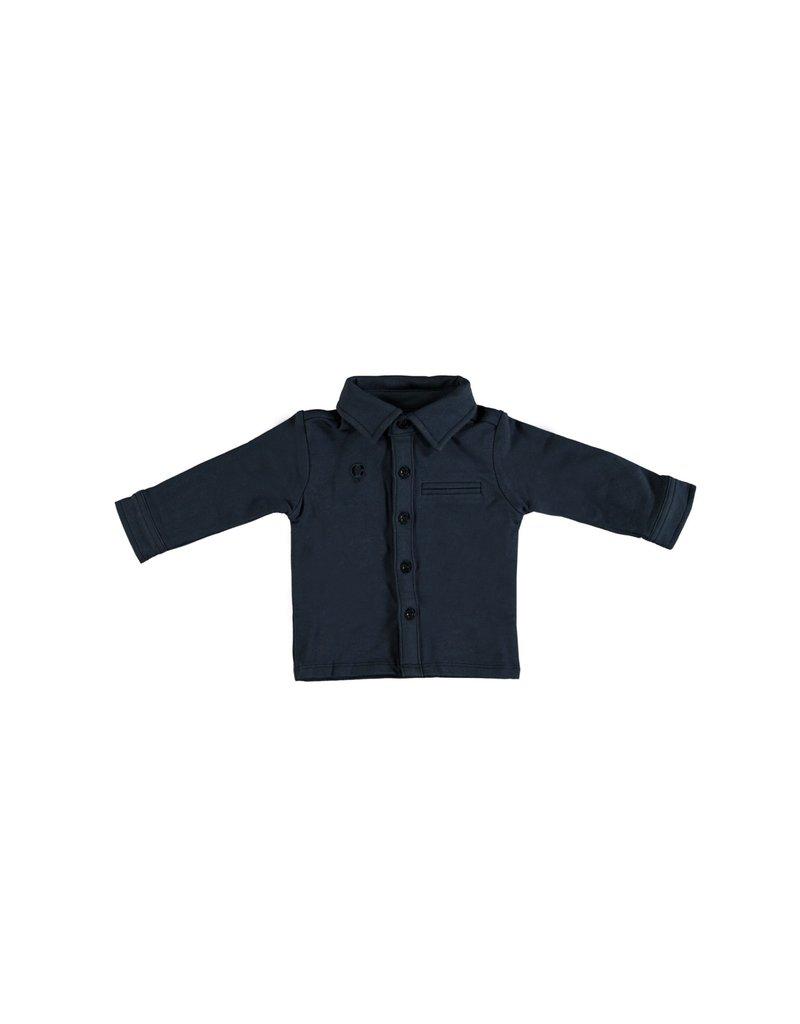 LE CHIC BEBE Polo hemdje navy