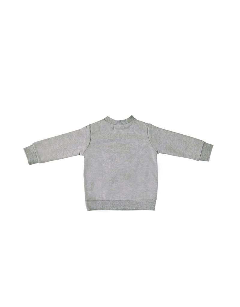 "LE CHIC BEBE Sweater ""Ç"" soft sweat seal melee"