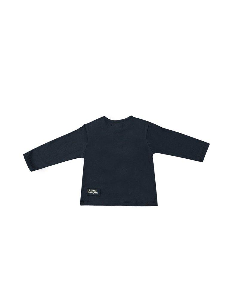 """LE CHIC BEBE Tshirt """"Un Nouveau Garçon"""" navy"""