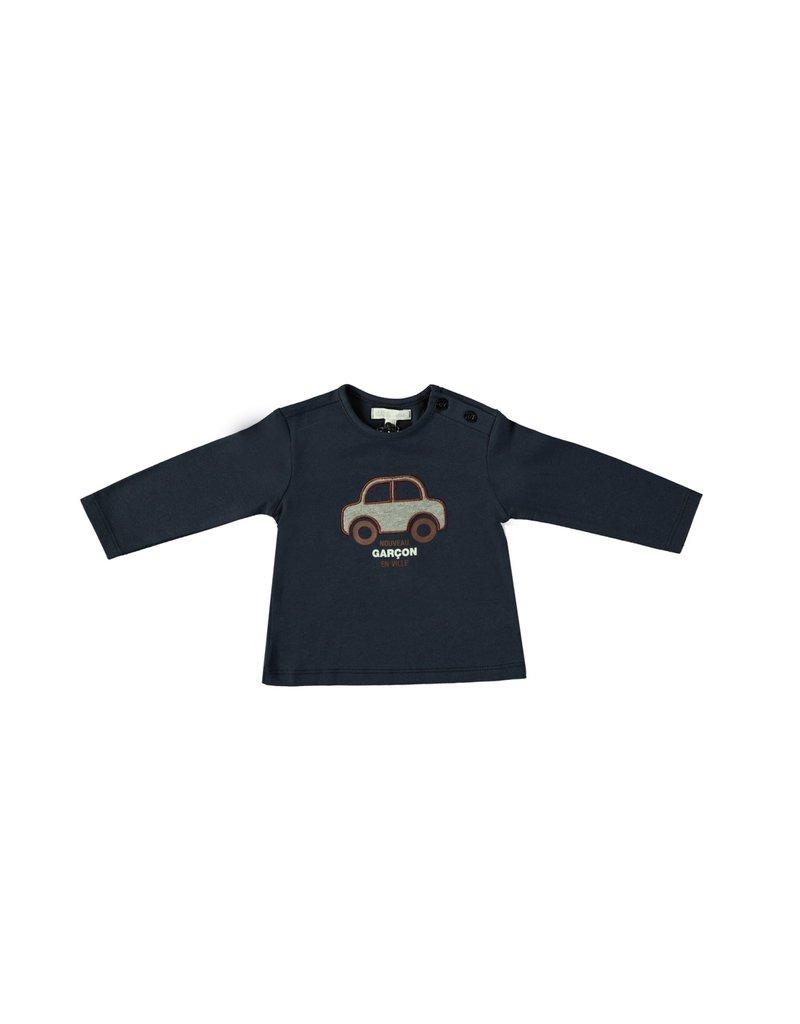 """LE CHIC BEBE Tshirt """"Nouveau Garçon En Ville"""" navy"""