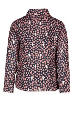 """Le Chic Blouse """"Born To Love"""" dots blue navy"""