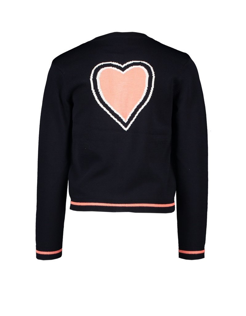 "Le Chic Cardigan ""Heart"" blue navy"