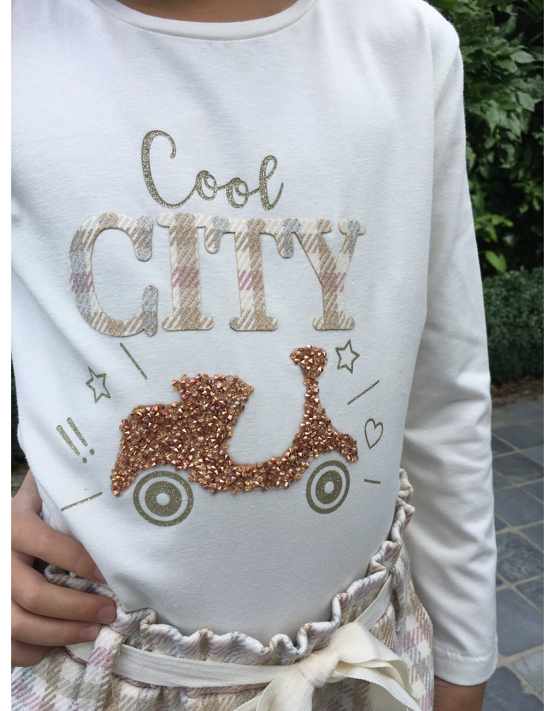 "Yours Longsleeve ""Cool City"" cream"