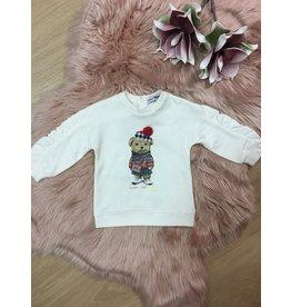 "Yours Sweaterjurk ""Glamorous Bear"" cream"